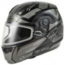 GMAX MD04 Vault Modular Face Helmet - Vault Black/Gray