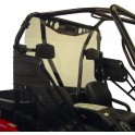 ARCTIC CAT PROWLER REAR WINDSHIELD (Round tube roll cage)