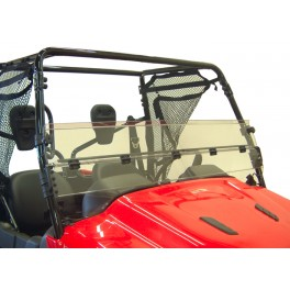 HONDA BIG RED HALF FOLDING WINDSHIELD