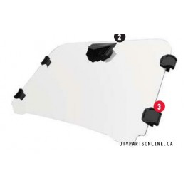 POLARIS RZR 900 1000 FRONT WINDSHIELD (2 & 4 SEAT)