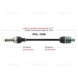 Polaris RZR 900 XP Rear Axle